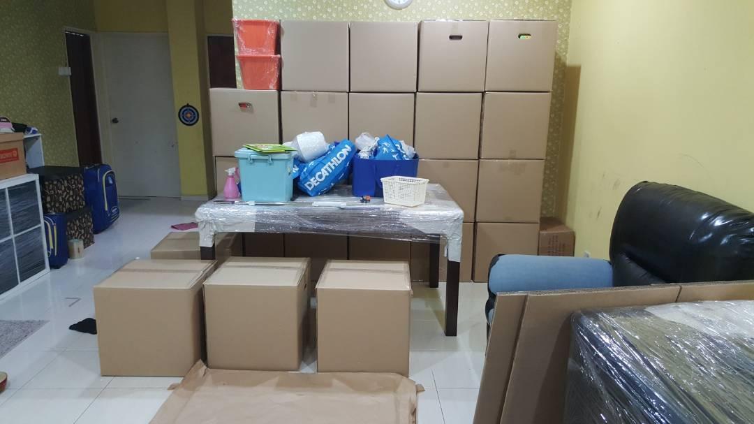 kotak murah pindah rumah