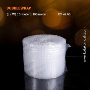 Bubblewrap 0.5m x 100m