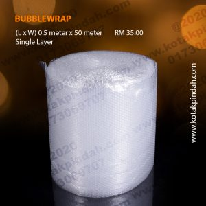 Bubblewrap 0.5m x 50m