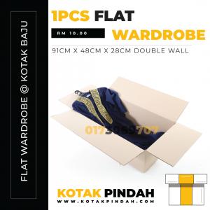 Kotak Flat Wardrobe